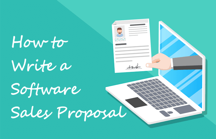 how to write a software sales propsal